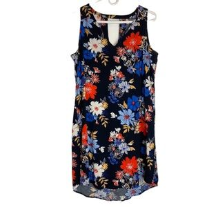 Old Navy Large Floral midi-dress